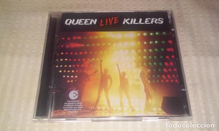 QUEEN LIVE KILLERS ( LOTE DE 2 CDS) (Música - CD's Rock)