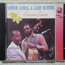 CDs de Música: AHMAD JAMAL & GARY BURTON.PEDIDO MINIMO 5€. Lote 190385968