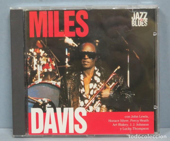 CD. MILES DAVIS. JAZZ & BLUES (Música - CD's Jazz, Blues, Soul y Gospel)