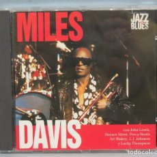 CDs de Música: CD. MILES DAVIS. JAZZ & BLUES. Lote 190391037
