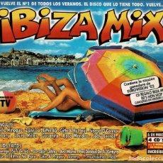 CDs de Música: IBIZA MIX / 4 CDS DE 2002 , BLANCO Y NEGRO , RF-3870 , CON SOBRECUBIERTA DE CARTON. Lote 190397010