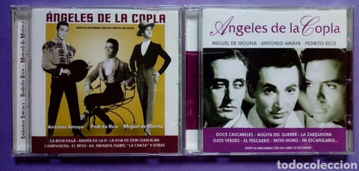 CDs de Música: Ángeles de la copla - Miguel de Molina, Antonio Amaya, Pedrito Rico 2 CD - Foto 3 - 190400598