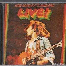 CDs de Música: BOB MARLEY AND THE WAILERS. LIVE! CD ALBUM DE 1975 , 1 EDICION RF-3881. Lote 190407580