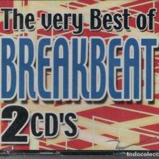 CD de Música: BREAKBEAT - THE VERY BEST OF (CAJA CON 2 CD'S, EFEN RECORDS 2005, PRECINTADO). Lote 190449745