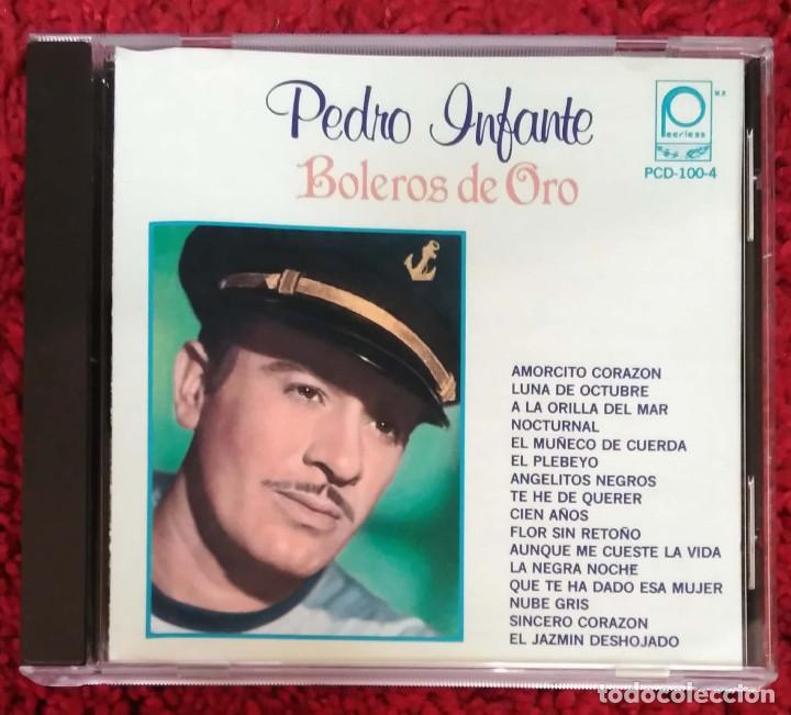 PEDRO INFANTE (BOLEROS DE ORO) CD 1990 (Música - CD's Latina)