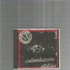 CDs de Música: SOZIEDAD ALKOHOLIKA INTOXIKAZION. Lote 190470886