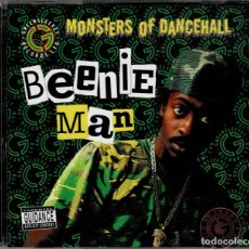 CDs de Música: BEENIE MAN - MONSTERS OF DANCEHALL CD ALBUM DE 2007 RF-3922 BUEN ESTADO. Lote 190483698
