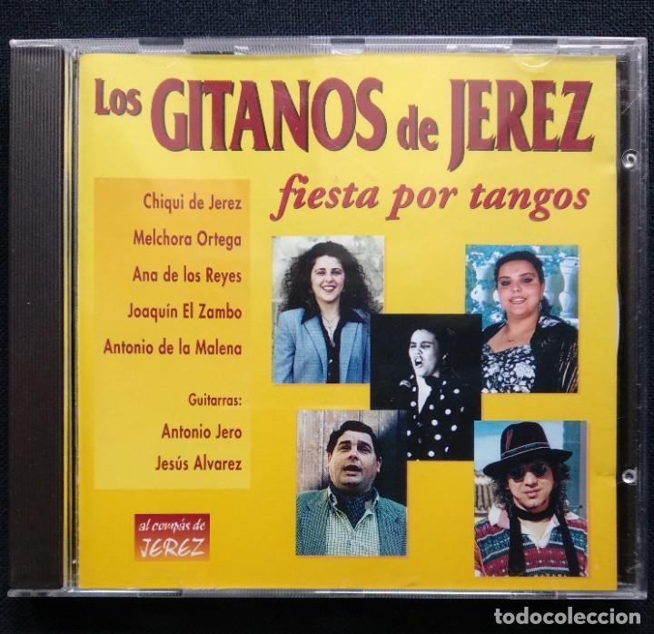 CD 1999 JOAQUÍN EL ZAMBO - ANTONIO DE LA MALENA - MELCHORA ORTEGA - ANTONIO JERO (GITANOS DE JEREZ) (Música - CD's Flamenco, Canción española y Cuplé)