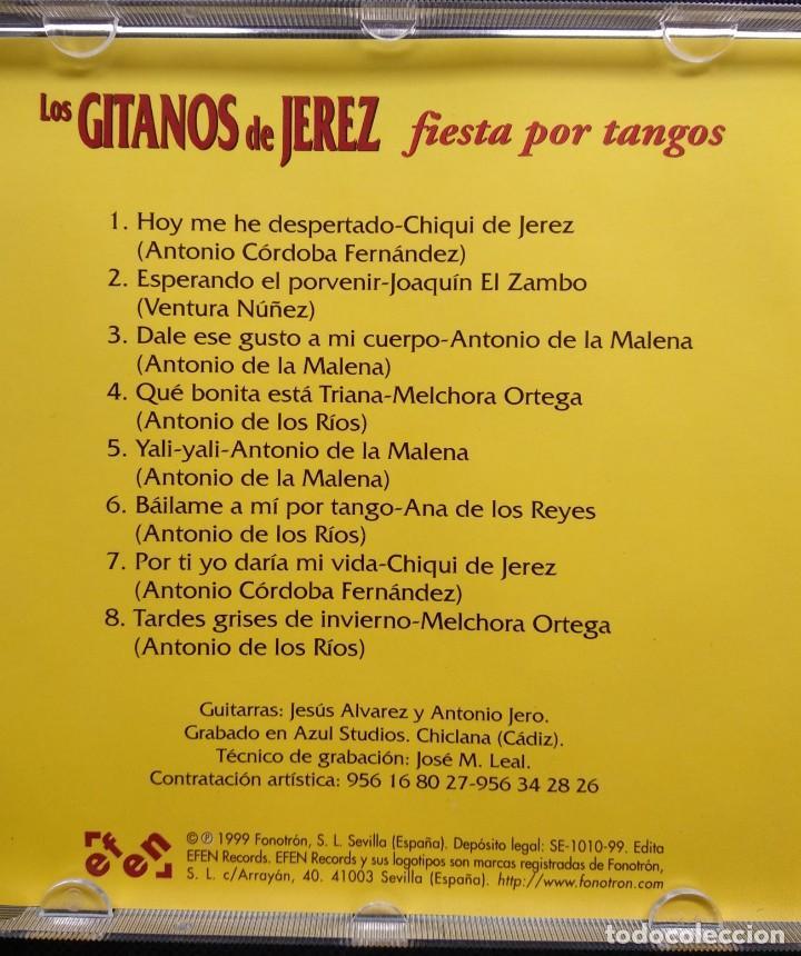 CDs de Música: CD 1999 JOAQUÍN EL ZAMBO - ANTONIO DE LA MALENA - MELCHORA ORTEGA - ANTONIO JERO (GITANOS DE JEREZ) - Foto 2 - 190500150