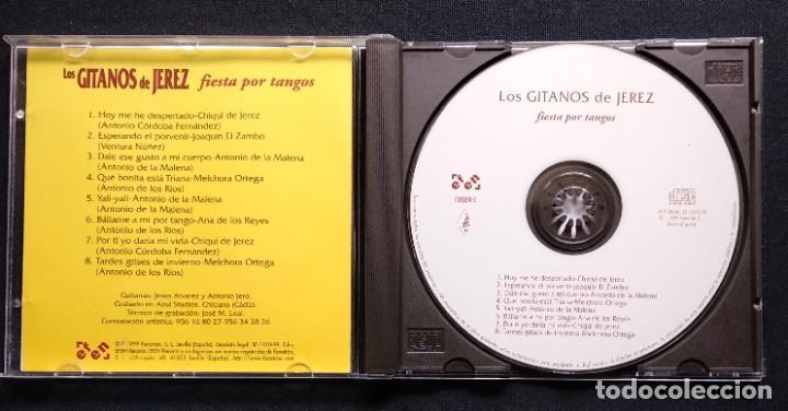 CDs de Música: CD 1999 JOAQUÍN EL ZAMBO - ANTONIO DE LA MALENA - MELCHORA ORTEGA - ANTONIO JERO (GITANOS DE JEREZ) - Foto 3 - 190500150