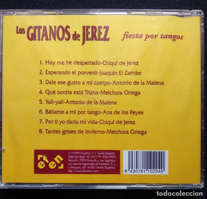 CDs de Música: CD 1999 JOAQUÍN EL ZAMBO - ANTONIO DE LA MALENA - MELCHORA ORTEGA - ANTONIO JERO (GITANOS DE JEREZ) - Foto 5 - 190500150