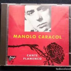 CDs de Música: CD 1989 FLAMENCO MANOLO CARACOL. Lote 190503266