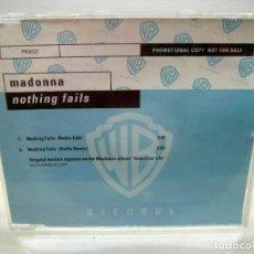 CDs de Música: MADONNA. NOTHING FAILS (RADIO REMIX) (CD-SINGLE ). Lote 190517622