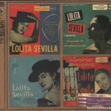 CDs de Música: LOLITA SEVILLA - MUSIC AGES VOLUMEN 7 / CD DIGIPACK RF-3939 , PERFECTO ESTADO. Lote 190532806