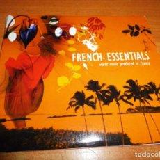 CDs de Música: FRENCH ESSENTIALS DOBLE CD DIGIPACK AÑO 2003 FRANCIA 38 TEMAS 2 CD CESARIA EVORA TANIA LIBERTAD RARO. Lote 190551843