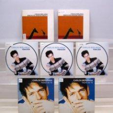 CDs de Música: LOTE 7 CD 'S CARLOS BERLANGA .. PROMO SINGLE .. TAZAS DE TE + ARREPENTIMIENTO + TRAICION. Lote 190556465
