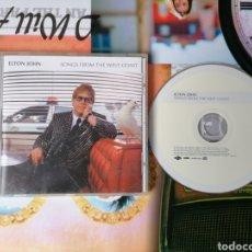 CDs de Música: CD ELTON JOHN SONGS FROM THE WEST COAST. Lote 152844098