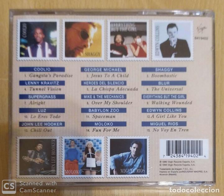 CDs de Música: SOLO EXITOS 96 (LUZ CASAL, MIGUEL RIOS, HEROES DEL SILENCIO, LENNY KRAVITZ) CD 1996 * Precintado - Foto 2 - 190601513