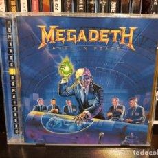 CD di Musica: MEGADETH - RUST IN PEACE. Lote 190606985