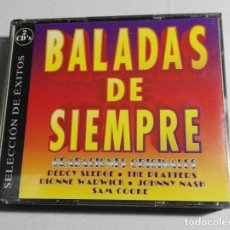 CDs de Música: 2 CDS BALADAS DE SIEMPRE SELECCIÓN EXITOS S.G.A.E. 1995. Lote 190615445