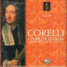 CDs de Música: CORELLI: OBRA COMPLETA MUSICA AMPHION; PIETER-JAN BELDER. 10 CDS. NUEVO PRECINTADO. . Lote 190619332