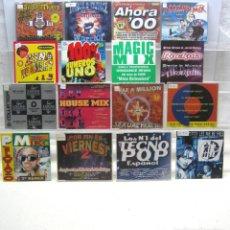 CDs de Música: LOTE 16 CD 'S TECHNO DANCE TRANCE MIX. Lote 247412165