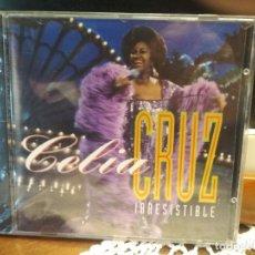 CDs de Música: CELIA CRUZ - IRRESISTIBLE - CD 1994 - 18 CANCIONES PRECINTADO PEPETO. Lote 190624036