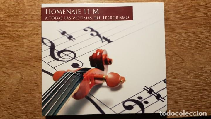 CD HOMENAJE AL 11 M. JUAN CRUZ, DIANA PÉREZ, RAFAEL DÍAZ, MANOLO SANLÚCAR, CARMEN LINARES (Música - CD's Clásica, Ópera, Zarzuela y Marchas)