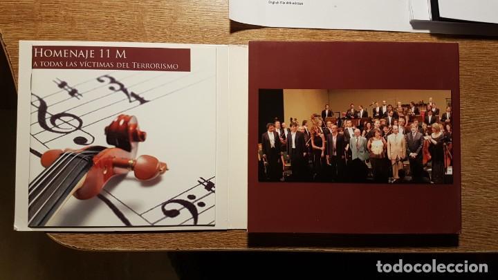 CDs de Música: CD HOMENAJE AL 11 M. JUAN CRUZ, DIANA PÉREZ, RAFAEL DÍAZ, MANOLO SANLÚCAR, CARMEN LINARES - Foto 2 - 190624771