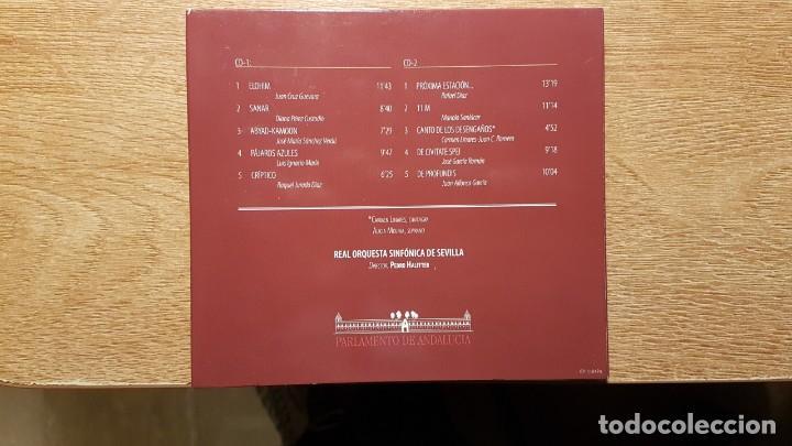 CDs de Música: CD HOMENAJE AL 11 M. JUAN CRUZ, DIANA PÉREZ, RAFAEL DÍAZ, MANOLO SANLÚCAR, CARMEN LINARES - Foto 3 - 190624771
