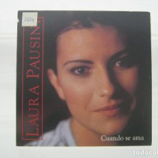 CDs de Música: LAURA PAUSINI: CUANDO SE AMA, CD SINGLE PROMO SPAIN, 1997. Lote 190631145