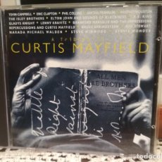 CDs de Música: CURTIS MAYFIELD - A TRIBUTE A TRIBUTE CURTIS MAYFIELD CD EUROPA 1994 PDELUXE. Lote 190638147