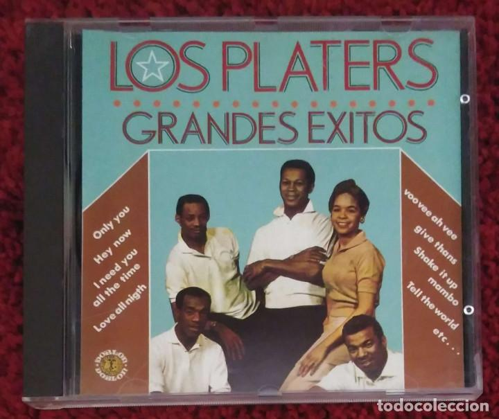 LOS PLATTERS (GRANDES EXITOS) CD 1989 (Música - CD's Jazz, Blues, Soul y Gospel)