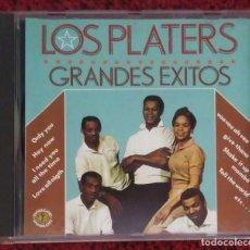 CDs de Música: LOS PLATTERS (GRANDES EXITOS) CD 1989 . Lote 190756532