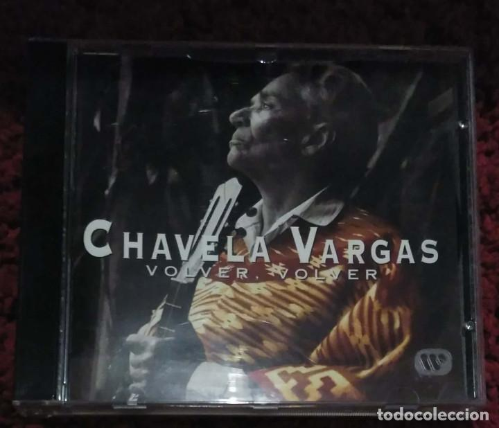 CHAVELA VARGAS (VOLVER, VOLVER) CD 1996 (Música - CD's Latina)
