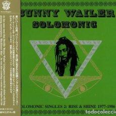 CDs de Música: BUNNY WAILER - SOLOMONIC SINGLES 2: RISE & SHINE 1977-1986 - CD [DUB STORE RECORDS, 2016]. Lote 190774818
