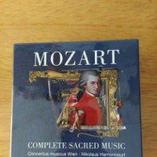 CDs de Música: MOZART-HARNONCOURT: COMPLETE SACRED MUSIC (13 CDS). Lote 190826405