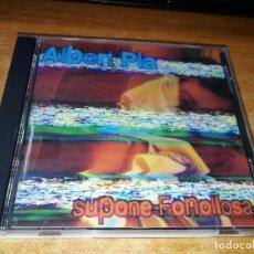 CDs de Música: ALBERT PLA SUPONE FONOLLOSA CD ALBUM MI ESQUELETO EL LADO MAS BESTIA DE LA VIDA ROBE EXTREMODURO. Lote 190840535