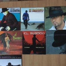 CDs de Música: EL BARRIO. EL COCO. ANGEL MALHERIDO TRUCOS. QUERIDA ENEMIGA. TU FRIALDAD (7 CD SINGLES PROMO ). Lote 157269212