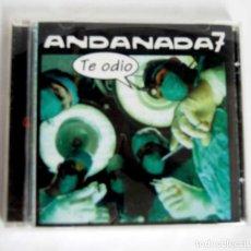 CDs de Música: ANDANADA 7 TE ODIO EN CD PUNK. Lote 190850077