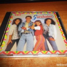 CDs de Música: GARABATOS CD ALBUM DEL AÑO 1993 TEMAS DE ROSANA ARBELO 14 TEMAS MUSICA INFANTIL MECANO NACHO CANO. Lote 190858360