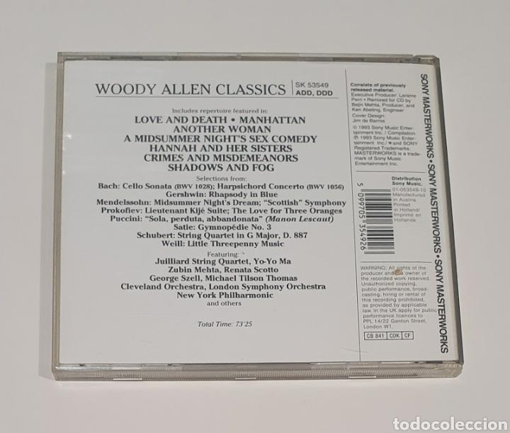 CDs de Música: BSO / CD / WOODY ALLEN CLASSICS - Foto 3 - 190875823