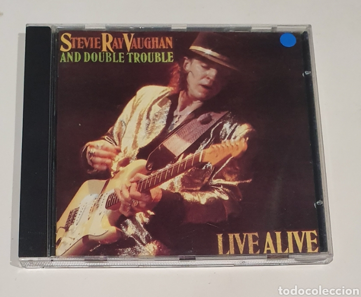 STEVIE RAY VAUGHAN / EPIC 1986 CD / LIVE ALIVE (Música - CD's Rock)