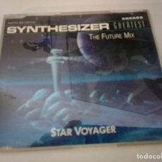 CDs de Música: SYNTHESIZER GREATEST / THE FUTURE MIX - STAR VOYAGER (CD SINGLE 1990). Lote 190885335
