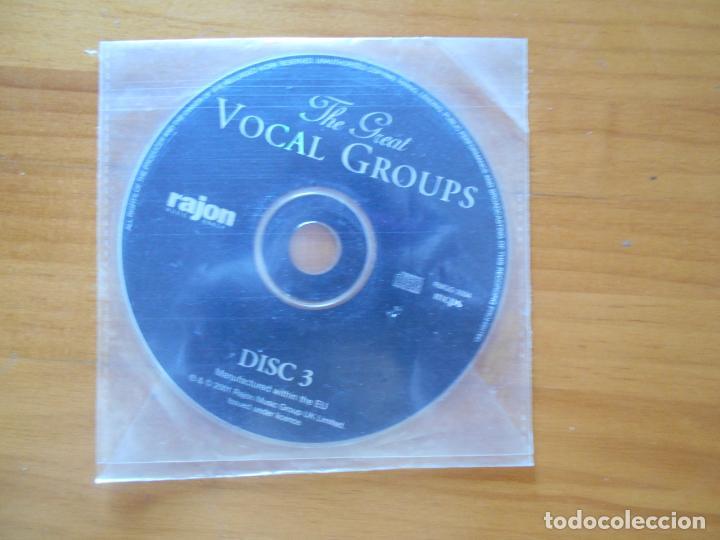CD THE GREAT VOCAL GROUPS - DISC 3 - SOLO DISCO (SIN CAJA NI PORTADA) (U4) (Música - CD's Pop)