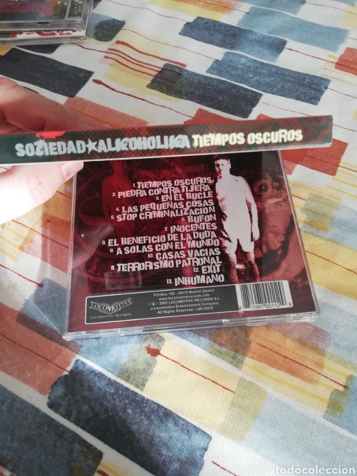 CDs de Música: Edición rarísima Slipcase / SOZIEDAD ALKOHOLIKA / CD / TIEMPOS OSCUROS - Foto 2 - 190900572