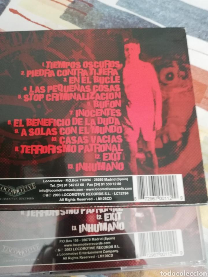 CDs de Música: Edición rarísima Slipcase / SOZIEDAD ALKOHOLIKA / CD / TIEMPOS OSCUROS - Foto 3 - 190900572