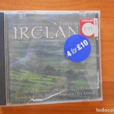 CDs de Música: CD A TASTE OF IRELAND - DANIEL O'DONNELL, MARGO, GLEN CURTIN... (F5). Lote 190908937