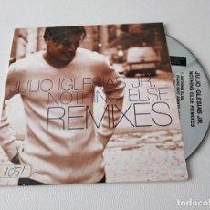 CDs de Música: JULIO IGLESIAS JR. NOTHING ELSE REMIXES CD SINGLE PROMOCIONAL DE CARTON AÑO 1999 4 TEMAS. Lote 190918433
