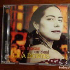 CD de Música: LILA DOWNS ?– ONE BLOOD UNA SANGRE. Lote 190987282